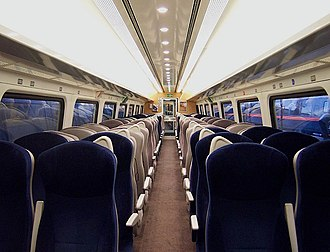 InterCity 225 - Image: 3 Mark IV TSO Interior
