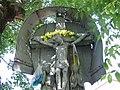 3 Proszowice - krzyż drewniany z XIX w. (1.VI.2008).JPG