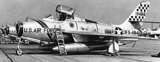 401st Air Expeditionary Group - General Motors F-84F-35-GK Thunderstreak 51-9484
