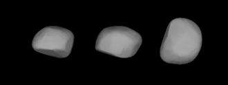 532 Herculina - A three-dimensional model of 532 Herculina based on its light curve