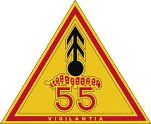 55th Air Defense Artillery Regiment - Image: 55 ADA Rgt DUI