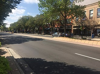 Longmont, Colorado - Downtown Longmont is home to many local businesses
