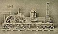 6-2-0 Crampton locomotive, 1849, first Crampton built in America. Locomotive Engineering, X-4, April 1897, New York, p. 287.jpg