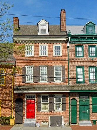 Nathaniel Irish House - Nathaniel Irish House, April 2015