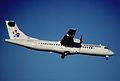 77ch - Air Srpska ATR 72-202; YU-ALO@ZRH;31.10.1999 (5362910653).jpg