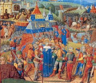 Capetian House of Courtenay - The Battle of Al Mansurah