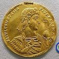 9 Solidi, Constans, emperor in armor, Aquileia, 342 AD - Bode-Museum - DSC02728.JPG