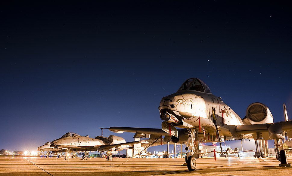A-10C Warthog remains the star of close air support 150813-F-GK926-003
