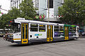 A1 237 (Melbourne tram) in Bourke St, December 2013.JPG