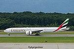 A6-EBR Boeing B777-31H-ER B77W - UAE (28331056601).jpg