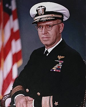 Walter F. Boone - Walter F. Boone pictured as a rear admiral