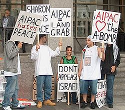 AIPAC protesters