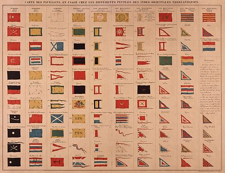 Different flags in Dutch East India AMH-5596-NA Different flags in Dutch East India.jpg
