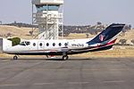 AP JETS (VH-OVS) Raytheon Beechjet 400A parked on the tarmac at Wagga Wagga Airport.jpg