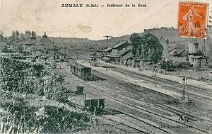 Gare d'Aumale - Image: ARNOULD AUMALE Intérieur de la Gare
