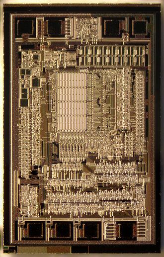 EEPROM - A 93C46A die