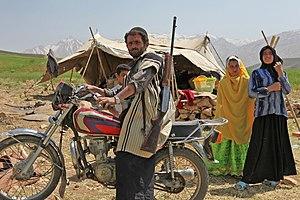 Bakhtiari people - A Bakhtiari nomad family