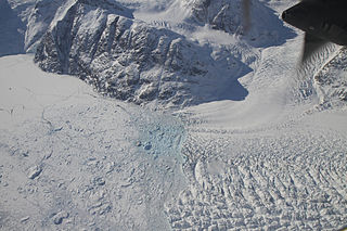 Ice mélange A mixture of sea ice types, icebergs, and snow without a clearly defined floe
