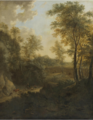 A PASTORAL LANDSCAPE Frederik de Moucheron.PNG