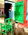 A barbers shop, Varanasi.jpg