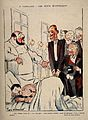 A group of aristocrats visit a young man in hospital. Colour Wellcome V0011897.jpg