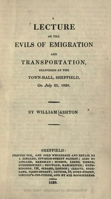 A lecture on the evils of emigration and transportation.djvu