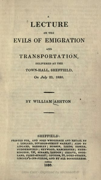 File:A lecture on the evils of emigration and transportation.djvu