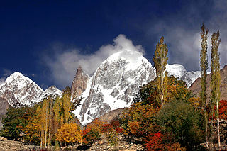 Hunza Peak mountain