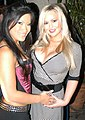 Abbey Brooks, Christina Aguchi at Jack Lawrence's Birthday Party 1.jpg