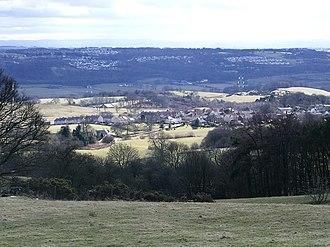 Banton, North Lanarkshire - Image: Above the Gorse geograph.org.uk 1754241
