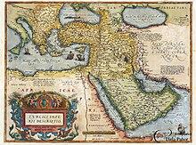 Outline of the Ottoman Empire , from the Theatro d'el Orbe de la