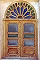 Abyaneh-Iran (پنجره چوبی، خانه ای در ابیانه).jpg