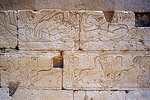 Kadesh inscriptions - Image: Abydos R2Qadesh Battle 81