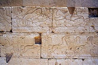 Kadesh inscriptions - Image: Abydos R2Qadesh Battle 81