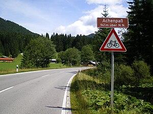 Achen Pass - Image: Achenpass