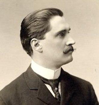Achille Bergevin - Image: Achille Bergevin 1900