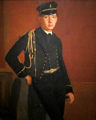 Luncheon in the Studio - Edgar Degas, Achille De Gas in the Uniform of a Cadet (1855)