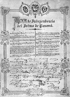 Independence Act of Panama