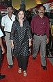 Actress Mrinal Kulkarni on the Red Carpet arriving at 'INOX' for the movie Gangor (Behind the Bodice), at the 41st International Film Festival of India (IFFI-2010), in Panjim, Goa on November 26, 2010.jpg