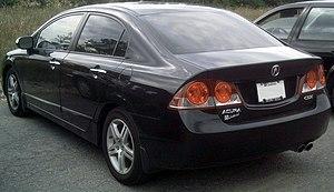 Acura CSX - Acura CSX