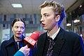 Adèle Haenel Hannah Herzsprung Die Blumen von gestern Österreichpremiere 2017 ORF-Interview 03.jpg