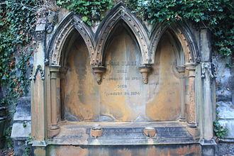 Adam Black - Adam Black's grave in Warriston Cemetery
