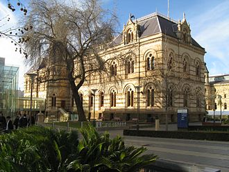 State Library of South Australia - Mortlock Wing.