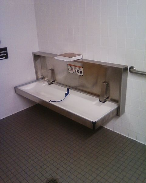 FileAdult Disabled Changing Table Public Toiletjpg Wikimedia Commons - Disabled changing table