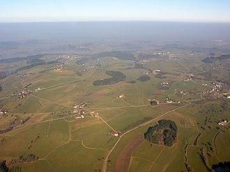 Gossau, St. Gallen - Aerial view above Gossau