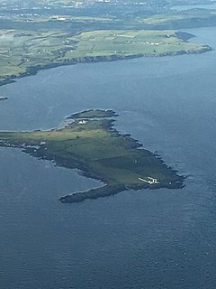 Aerial image of Langness Peninsular, Isle of Man.jpg