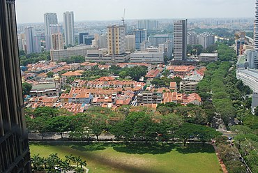 Aerial view of Kampong Glam, Singapore, from the DHL Balloon - 20080520.jpg