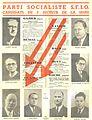 Affiche des candidats SFIO du 5e secteur de la Seine 1946.jpg