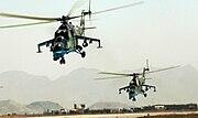Afghan Mil Mi-24