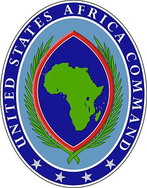 English: Seal of the United States Africa Comm...